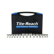 "Tite-Reach 3/8"" Drive Low Profile Socket Set Works on Tite Reach 3/8"" Wrench"