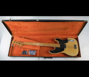 1953 Fender Precision Bass Guitar, Fully Restored By World Renowed Clive Brown.