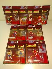 Timeless Legends NHL Starting Lineup 7 Piece Mixed Lot Kenner SLU Hockey Sealed