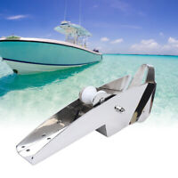 Marine Boat 316 Stainless Steel Hinged Self-Launching Bow Anchor Roller 420mm US