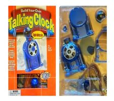 BUILDING YOUR OWN TALKING CLOCK Hands-on High Tech Series Book & Experiment Vtg