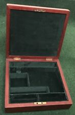 CASE FOR A LUGER PISTOL GUN.