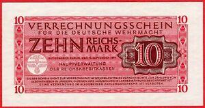 Germany 10 Mark , 1944 , AUNC