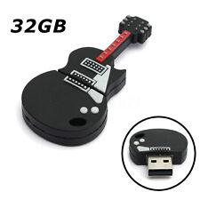 3D Guitare Clé USB 2.0 32 G GO GB KEY Mémoire Flash Drive Pliable Cadeau Win 7/8