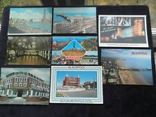 8 POSTCARDS OF BLACKPOOL, BUTLINS METROPOLE HOTEL, EMPRESS BALLROOM, PIER, TOWER