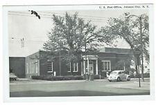 Johnson City New York U S Post Office with Volkswagen beetle in front