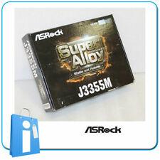 Placa base Micro ATX ASRock J3355M intel Dual Core J3355 con Accesorios