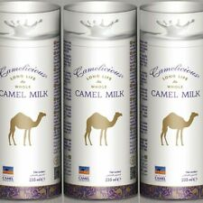 Camel Milk Camelicious Long Life Whole Long Expiry Date  02/2020  3 x 235ml