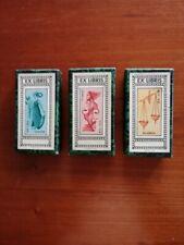 "Ex- libris ""Horoscope series of  "" O. Menegazzi ""   3  zodiacal signs"