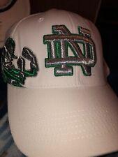 NCAA Notre Dame Fighting Irish Hat TotW O/S White Cap