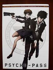 DVD Anime Manga.Psycho-Pass 1ª Temporada parte 1.episodios 1 a 11