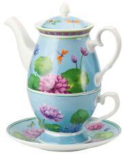"""Zauberhaft: Tea for One """"Lotus"""", 3-teiliges Set der Marke Ashdene of Australia"""