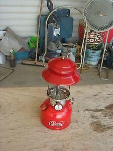 Vintage Coleman Lantern 200A Red  NOV 1966
