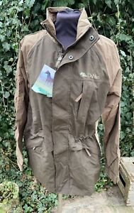 DUBLIN RIDING YARD COAT JACKET - LADIES - SMALL - BROWN - OLD STOCK  SALE **