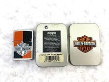 Zippo Harley Davidson Harley Deco Bar and Shield DISCONTINUED Lighter