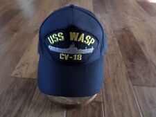 Uss Wasp Cv-18 U.S Navy Ship Hat U.S Military Official Ball Cap U.S.A Made