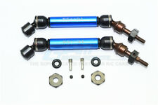 Traxxas Slash 4X4 Upgrade Parts Steel+Aluminum Front CVD Drive Shaft - Blue
