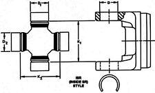 Universal Joint-RWD DANA Spicer 15-3147X
