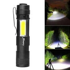 Pocket Tactical 15000LM T6 LED Zoomable 4 Mode 14500 Flashlight Camping Torch