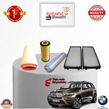 KIT TAGLIANDO 4 FILTRI BMW X5 3.0 D E70 173KW 231CV DAL 2007 -> 2010