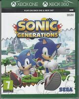 Sonic Generations - Microsoft Xbox One / Xbox 360 [SEGA Adventure Hedgehog] NEW