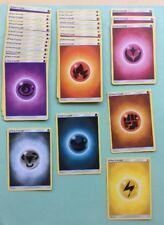 . Lot 30 Carte ÉNERGIE Pokémon Neuf Energy Cards