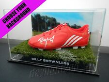 ✺Signed✺ BILLY BROWNLESS Football Boot PROOF COA Geelong Cats 2018 Guernsey