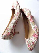 Court Standard Width (B) Slim Floral Heels for Women
