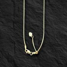 """14k Yellow Gold 22"""" Adjustable Snake Pendant Chain/Necklace   3 gram"""