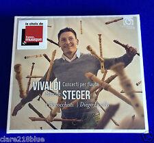 Vivaldi Concerti per Flauto Maurice Steger CD2014 Barocchisti Fasolis,neufcoffré
