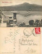 Cartolina di Castel Gandolfo, lago Albano - Roma, 1930