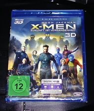 X-MEN ZUKUNFT IST VERGANGENHEIT 3D DOPPEL BLU RAY SCHNELLER VERSAND NEU & OVP