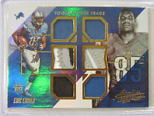 2014 Panini Absolute Tools of The Trade  Rookies Spectrum Gold  Eric Ebron 05/99