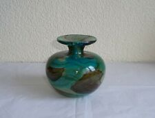 Mdina 70's Tiger Pattern Art Glass Vase