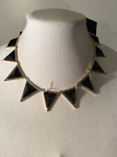 House of Harlow 1960 Jewelry Triangle Collar Necklace $158   HH-10