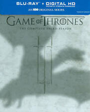 Game of Thrones: Season 3 (Blu-ray Disc, 2014, 5-Disc Set) no reserve