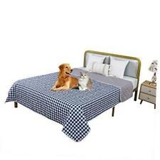 New listing Waterproof Pet Blanket for Bed Couch Sofa,Also Used As Dog Mat,Dog 52X82 Blue