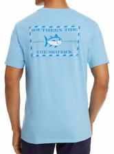 Southern Tide Men's Short Sleeve Ocean Channel Blue Original Skipjack T-Shirt