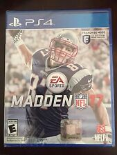 Madden NFL 17 Sony PlayStation 4 PS4 Free Shipping New Sealed