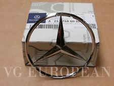 Mercedes-Benz Genuine S R CL Class Trunk Lid Hatch Door Star Emblem Logo NEW