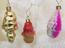 Vintage Christmas Tree Decorations Job Lot Glass Antique Bauble Ornament