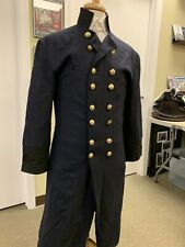 """Civil War Union Army Blue Wool Officer / Generals Db Frock Coat - 44"""" Chest New"""