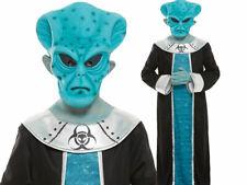 Alien Awakening Boys Halloween Aliens Fancy Dress Costume + Mask New