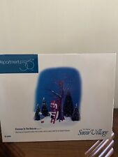 """Dept. 56 Snow Village """"Fireman To The Rescue� New!"""