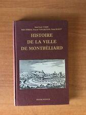 HISTOIRE DE LA VILLE DE MONTBELIARD