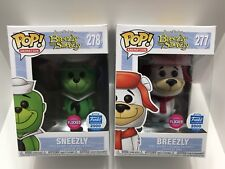 Funko Pop Limited Edition Of 2000 Pieces Sneezly & Breezly Flocked 277 & 278 Toy