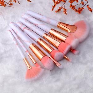 FLD5/15Pcs Makeup Brushes Tool Set Cosmetic Powder Eye Shadow Foundation