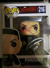 More details for funko pop #216 jon bernthal punisher marvel signed autograph  with coa