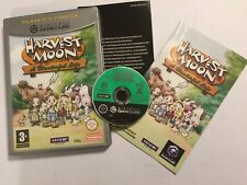 NINTENDO GAMECUBE GAME CUBE HARVEST MOON A WONDERFUL LIFE COMPLETE PAL