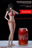 TBLeague PHMB2019-S35a 1/6 Suntan Female Body 12'' Flexible Young Girl Model